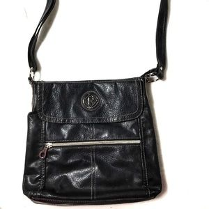 Relic Faux Leather Crossbody Hipster Purse Bag